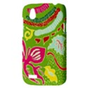 Green Organic Abstract HTC Desire V (T328W) Hardshell Case View3