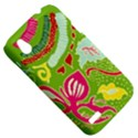 Green Organic Abstract HTC Desire V (T328W) Hardshell Case View5