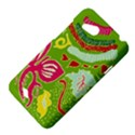 Green Organic Abstract HTC Desire VC (T328D) Hardshell Case View4