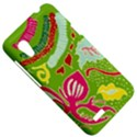 Green Organic Abstract HTC Desire VT (T328T) Hardshell Case View5