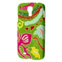 Green Organic Abstract Samsung Galaxy S4 I9500/I9505 Hardshell Case View3