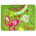 Green Organic Abstract Samsung Galaxy Tab 7  P1000 Flip Case View1