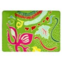 Green Organic Abstract Samsung Galaxy Tab 10.1  P7500 Flip Case View1