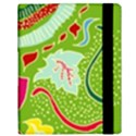 Green Organic Abstract Samsung Galaxy Tab 10.1  P7500 Flip Case View3