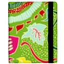Green Organic Abstract Samsung Galaxy Tab 8.9  P7300 Flip Case View2
