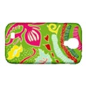 Green Organic Abstract Samsung Galaxy S4 Classic Hardshell Case (PC+Silicone) View1