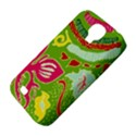 Green Organic Abstract Samsung Galaxy S4 Classic Hardshell Case (PC+Silicone) View4