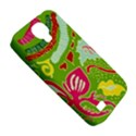 Green Organic Abstract Samsung Galaxy S4 Classic Hardshell Case (PC+Silicone) View5