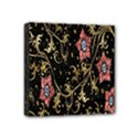 Floral Pattern Background Mini Canvas 4  x 4  View1
