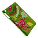 Green Organic Abstract iPad Air Hardshell Cases View5