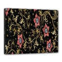 Floral Pattern Background Canvas 20  x 16  View1