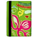 Green Organic Abstract iPad Mini 2 Flip Cases View4