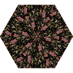 Floral Pattern Background Mini Folding Umbrellas