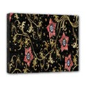 Floral Pattern Background Deluxe Canvas 20  x 16   View1
