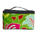Green Organic Abstract Cosmetic Storage Case View1