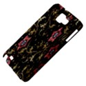 Floral Pattern Background Samsung Galaxy Note 1 Hardshell Case View4