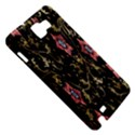 Floral Pattern Background Samsung Galaxy Note 1 Hardshell Case View5