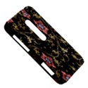 Floral Pattern Background HTC Evo 3D Hardshell Case  View5