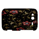 Floral Pattern Background HTC Wildfire S A510e Hardshell Case View1