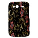 Floral Pattern Background HTC Wildfire S A510e Hardshell Case View3