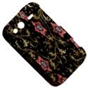 Floral Pattern Background HTC Wildfire S A510e Hardshell Case View5