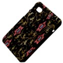 Floral Pattern Background Samsung Galaxy Tab 7  P1000 Hardshell Case  View4