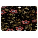 Floral Pattern Background Samsung Galaxy Tab 8.9  P7300 Hardshell Case  View1