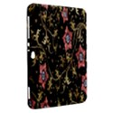 Floral Pattern Background Samsung Galaxy Tab 8.9  P7300 Hardshell Case  View2