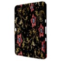 Floral Pattern Background Samsung Galaxy Tab 8.9  P7300 Hardshell Case  View3