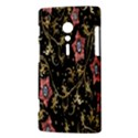 Floral Pattern Background Sony Xperia ion View3