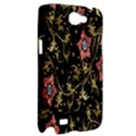 Floral Pattern Background Samsung Galaxy Note 2 Hardshell Case View2
