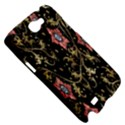 Floral Pattern Background Samsung Galaxy Note 2 Hardshell Case View5