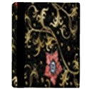 Floral Pattern Background Apple iPad 2 Flip Case View3