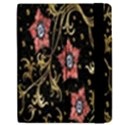 Floral Pattern Background Apple iPad Mini Flip Case View2