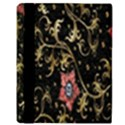 Floral Pattern Background Apple iPad Mini Flip Case View3