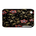 Floral Pattern Background Apple iPhone 3G/3GS Hardshell Case (PC+Silicone) View1