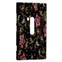Floral Pattern Background Nokia Lumia 920 View2