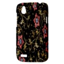 Floral Pattern Background HTC Desire V (T328W) Hardshell Case View3