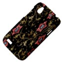 Floral Pattern Background HTC Desire V (T328W) Hardshell Case View4