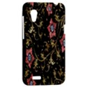 Floral Pattern Background HTC Desire VT (T328T) Hardshell Case View2