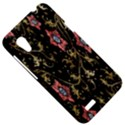 Floral Pattern Background HTC Desire VT (T328T) Hardshell Case View5