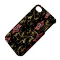 Floral Pattern Background Apple iPhone 4/4S Hardshell Case with Stand View4