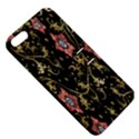 Floral Pattern Background Apple iPhone 5 Hardshell Case with Stand View5