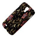 Floral Pattern Background Samsung Galaxy S4 I9500/I9505 Hardshell Case View4