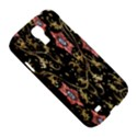 Floral Pattern Background Samsung Galaxy S4 I9500/I9505 Hardshell Case View5