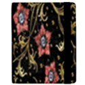 Floral Pattern Background Samsung Galaxy Tab 7  P1000 Flip Case View2