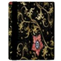 Floral Pattern Background Samsung Galaxy Tab 10.1  P7500 Flip Case View2