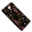 Floral Pattern Background Sony Xperia T View5