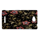 Floral Pattern Background Sony Xperia C (S39H) View1
