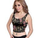 Floral Pattern Background Crop Top View1